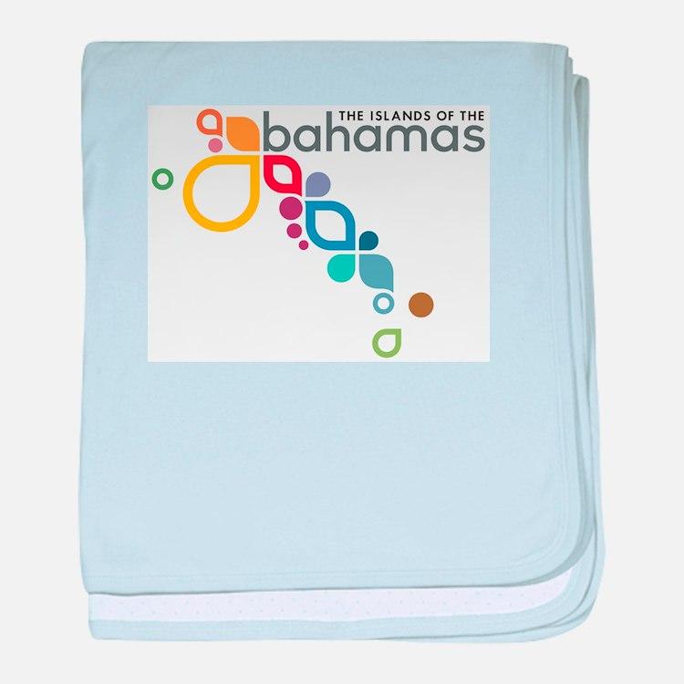 The Island of The Bahamas baby blanket