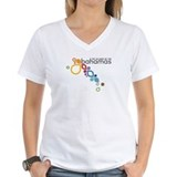 Bahamas Womens V-Neck T-shirts