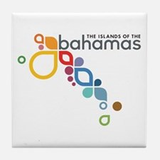 The Island of The Bahamas Tile Coaster
