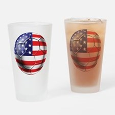 U.S. Soccer Ball Pint Glass