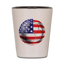 U.S. Soccer Ball Shot Glass