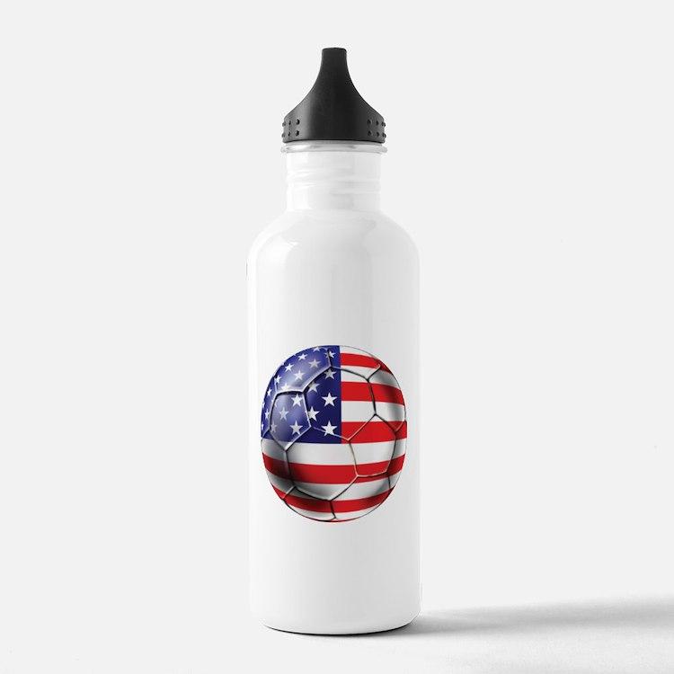 U.S. Soccer Ball Water Bottle