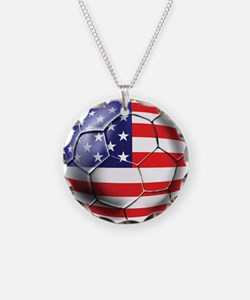 U.S. Soccer Ball Necklace