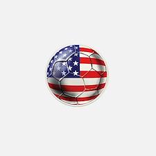 U.S. Soccer Ball Mini Button