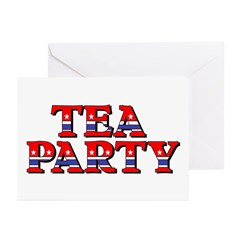 Tea Party Greeting Cards (Pk of 20)