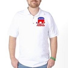Party Pooper Republican T-Shirt