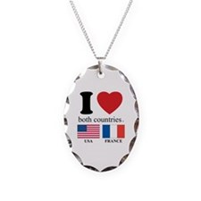 USA-FRANCE Necklace
