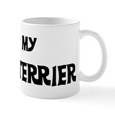 I Love My Cesky Terrier Mug