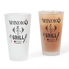Wendigo or Windigo Grill Pint Glass