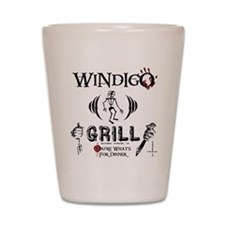 Wendigo or Windigo Grill Shot Glass
