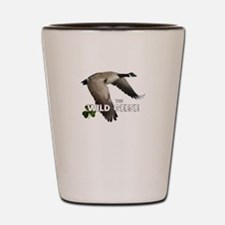 Unique Geese Shot Glass