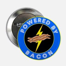 """Powered By Bacon 2.25"""" Button (100 pack)"""