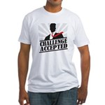Challenge Accepted Fitted T-Shirt