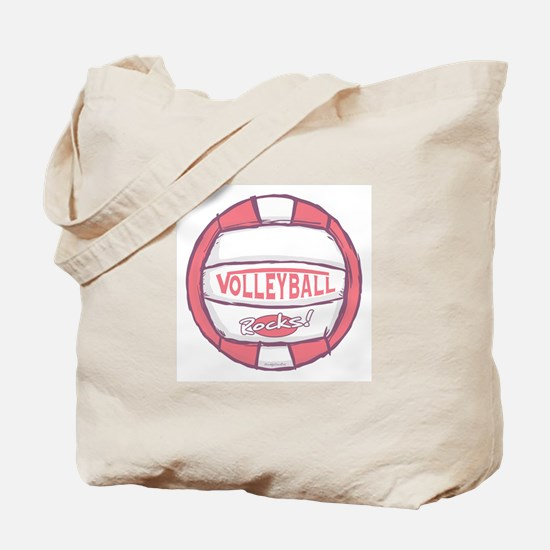 I Heart Sand Volleyball Tote Bag