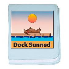 Dock Sunned baby blanket