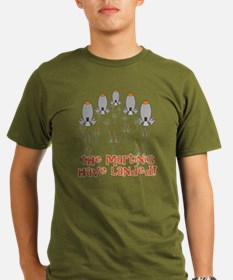 Martinis Have Landed T-Shirt