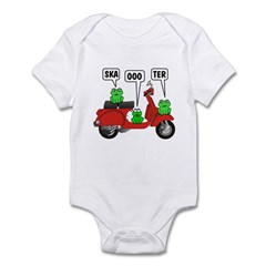 Scooter Frog Infant Creeper