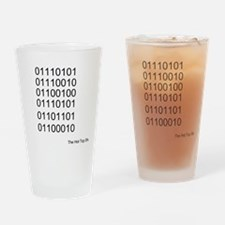 Binary Pint Glass