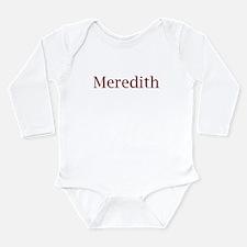 Meredith Long Sleeve Infant Bodysuit