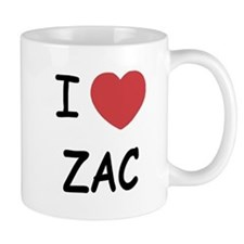 I heart zac Small Mug