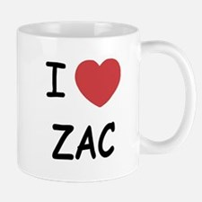 I heart zac Small Small Mug