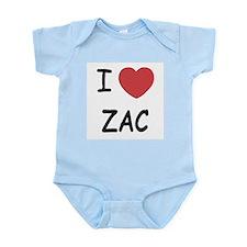 I heart zac Infant Bodysuit
