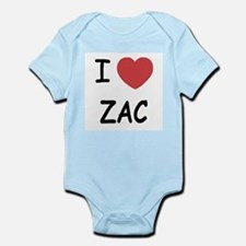 I heart zac Infant Bodysuit