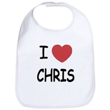 I heart chris Bib