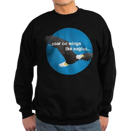 Wings Like Eagles Sweatshirt (dark)