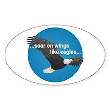 Wings Like Eagles Decal