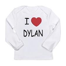 I heart dylan Long Sleeve Infant T-Shirt