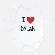 I heart dylan Long Sleeve Infant Bodysuit