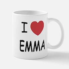 I heart emma Small Mugs
