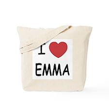 I heart emma Tote Bag
