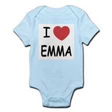 I heart emma Infant Bodysuit