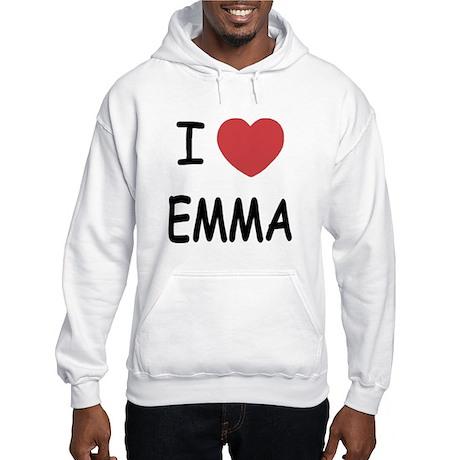 I heart emma Hooded Sweatshirt