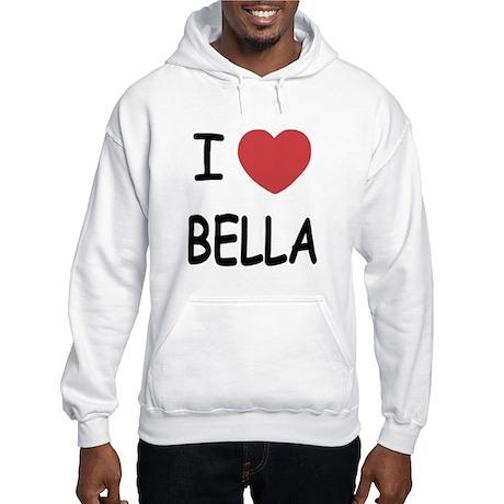 I heart bella Hooded Sweatshirt