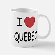 I heart quebec Mug