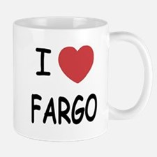 I heart fargo Mug