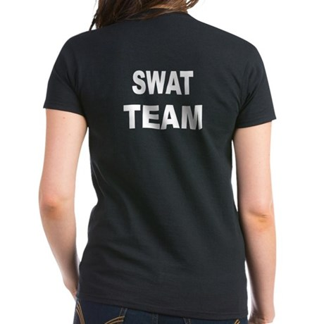 Swat Team Women 39 S T Shirt 2 Sided By Dkh