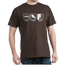 Feed, Sleep,Climb - Vampire Climber T-Shirt