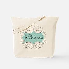 Beautiful Junior Bridesmaid Tote Bag