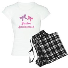 Butterflies Junior Bridesmaid Pajamas
