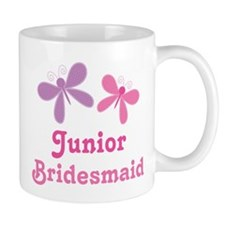 Butterflies Junior Bridesmaid Mug