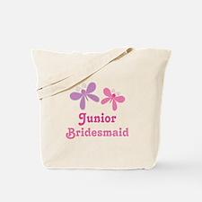 Butterflies Junior Bridesmaid Tote Bag