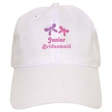 Butterflies Junior Bridesmaid Baseball Cap