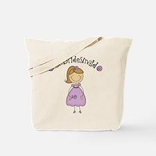 Junior Bridesmaid Girl Design Tote Bag