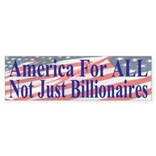 America For ALL Bumper Sticker