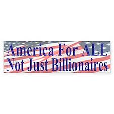 America For ALL Bumper Sticker