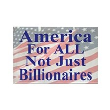 America For ALL Rectangle Magnet